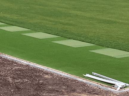 practice mat driving gravel range for leg on shot used sale golf mats