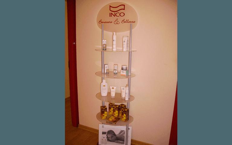 Cosmetica, Cosmetici Inco, Inco,sala, Trattamenti Estetici, Marida, Rieti