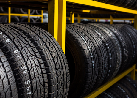 Tyres is warehouse