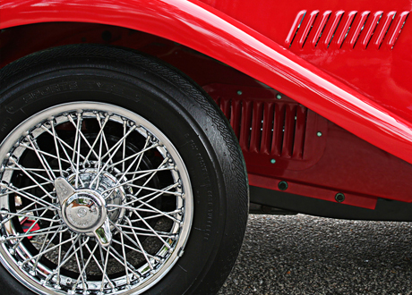 Unique oldtimer tyres and rims