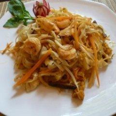 Pasta Thailandese con Gamberi