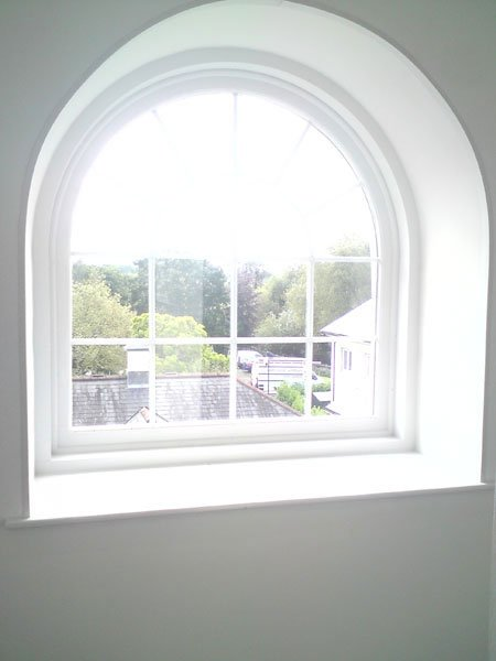 arched glazing