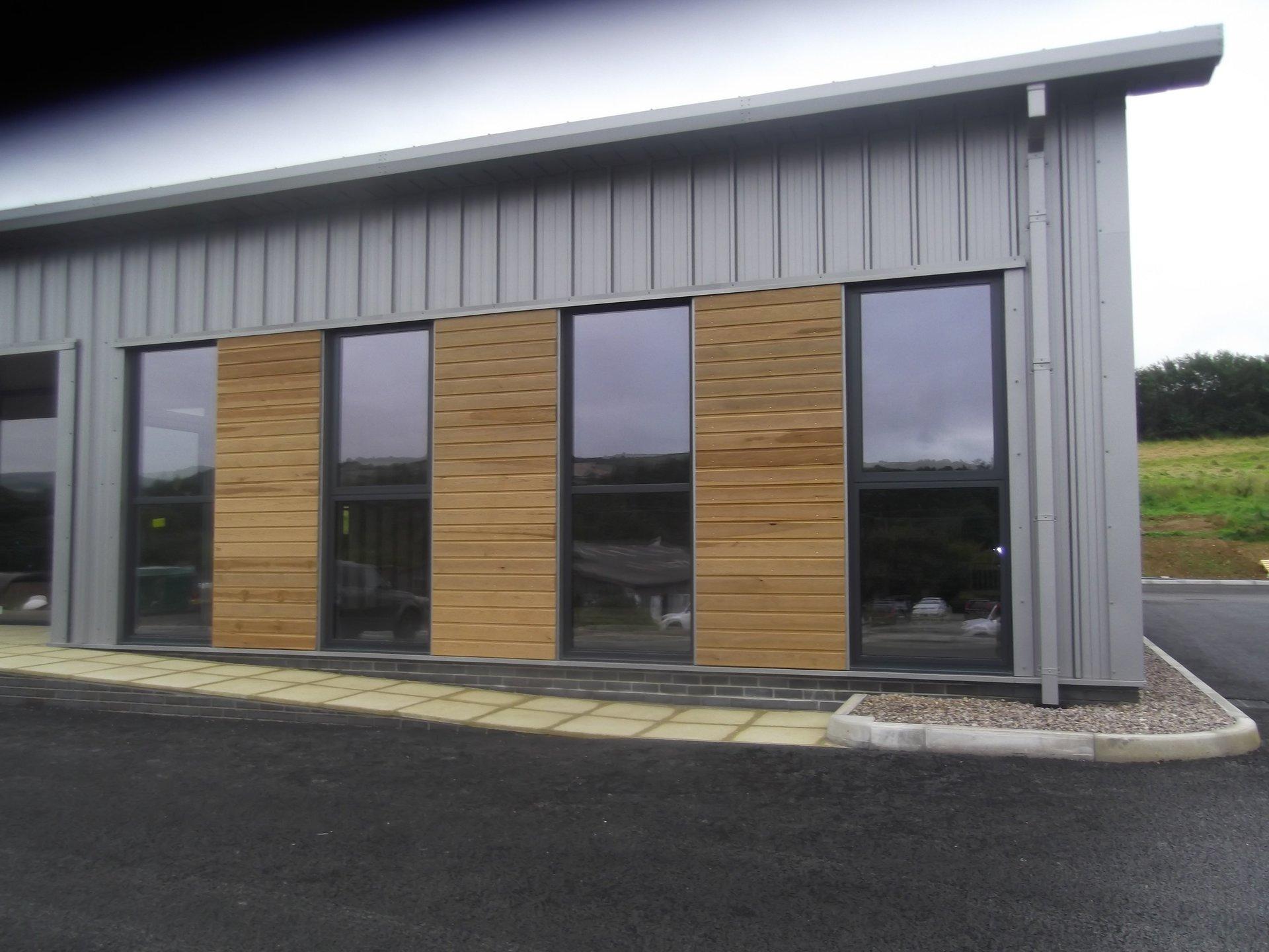 commercial establishment windows