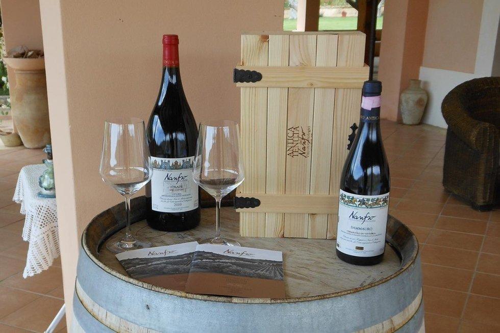 Nanfro wine