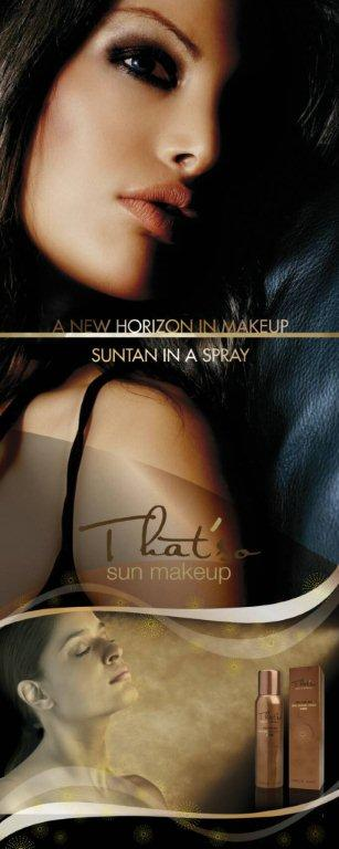 That's sun makeup product