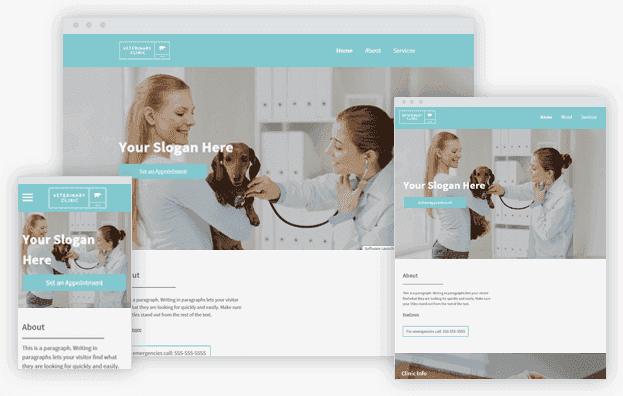 Reddrop Media Veterinary Clinic Template