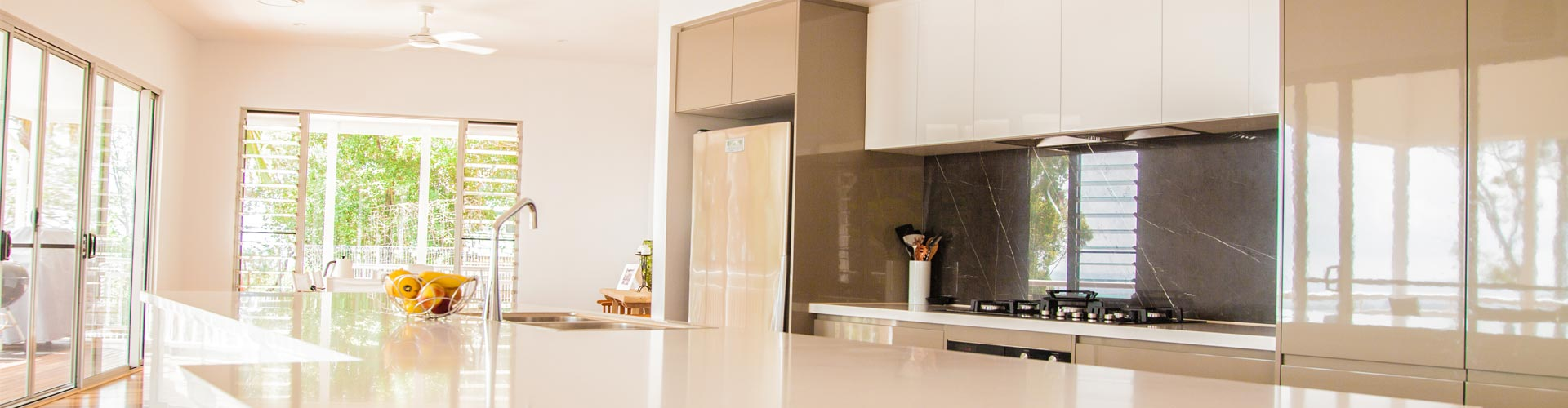 Cabinetry Solutions  Sunrise Road Kitchen Hero Image