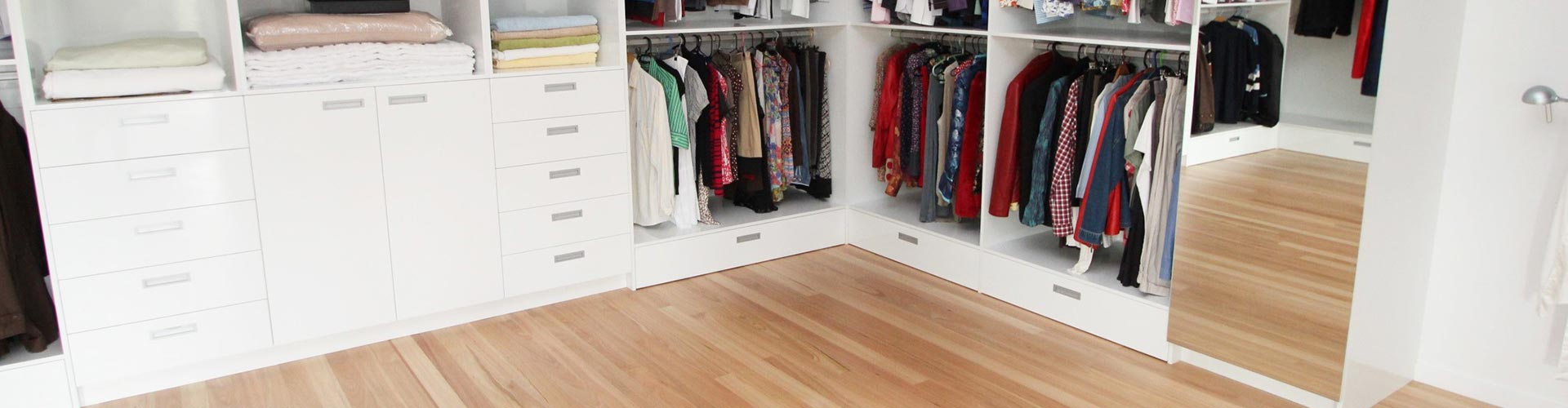 cabinetry solutions wardrobe hero image