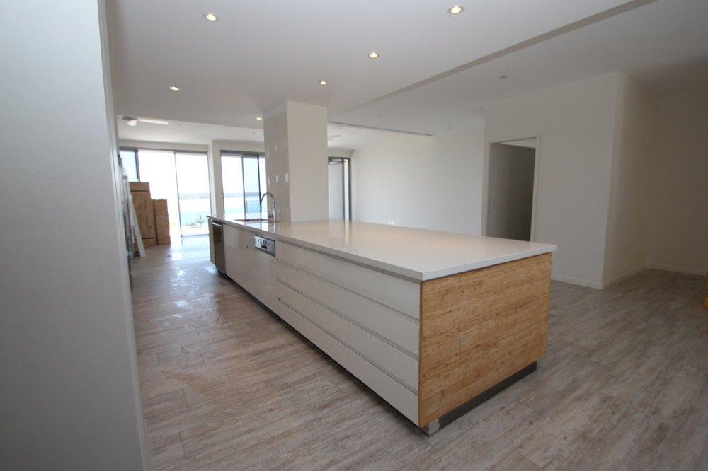 custom designed bambo kitchen