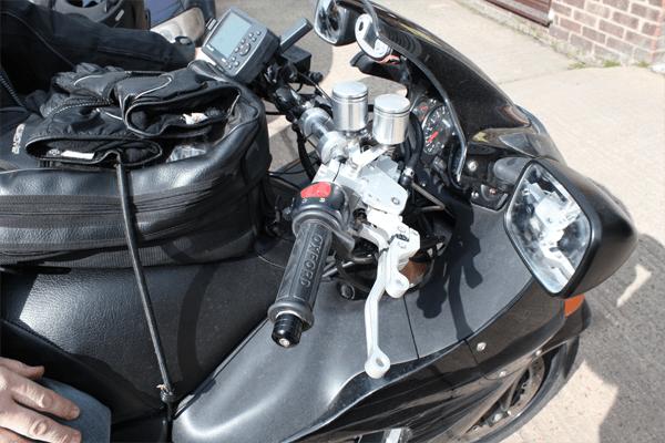Suzuki Hayabusa Trike K-Lever RH Front and Rear brake combination