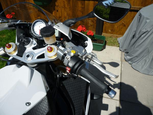 BMW1000RR K-Lever Clutch and Brake RH side