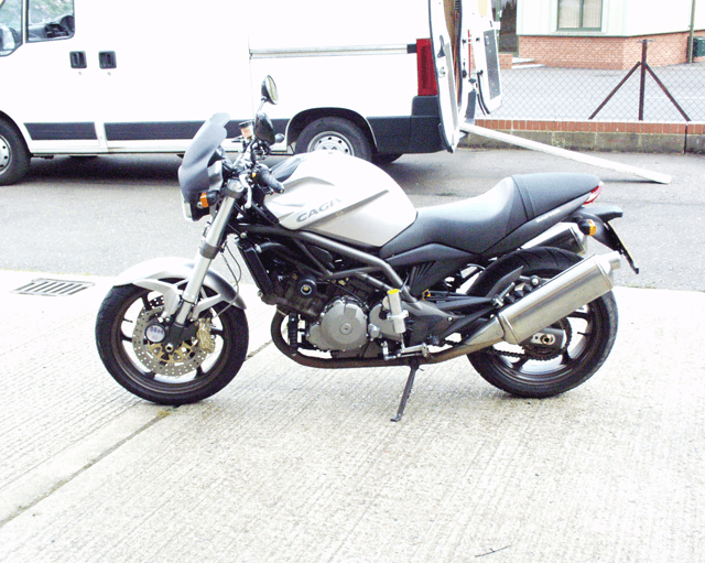 Cagiva Raptor Profile