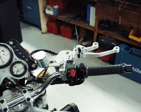 Triumph Speed Triple K-Lever RH Clutch and Brake Combination