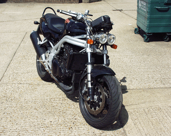 Triumph Speed Triple K-Lever RH Clutch and Front Brake Combination