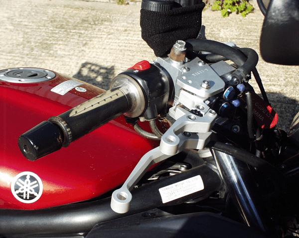 Yamaha Fazer 1000 K-Lever Front and Rear Brake Combination