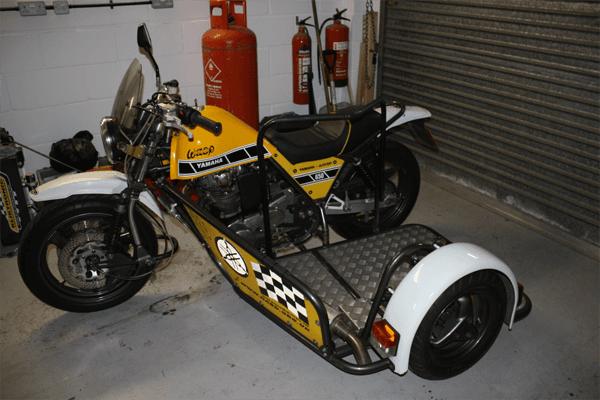 Yamaha XS650 Combination