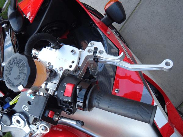Yamaha R1 RH Clutch and Brake Combination