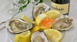 ostriche, secondi di pesce, pesce fresco