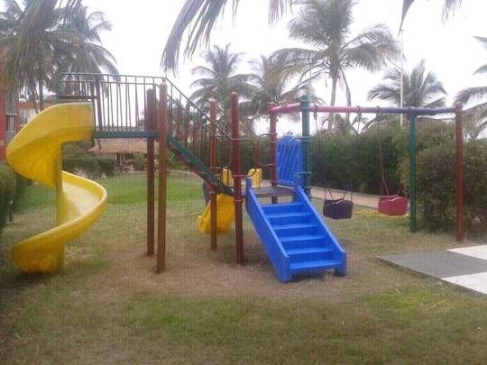 metal playground equipment
