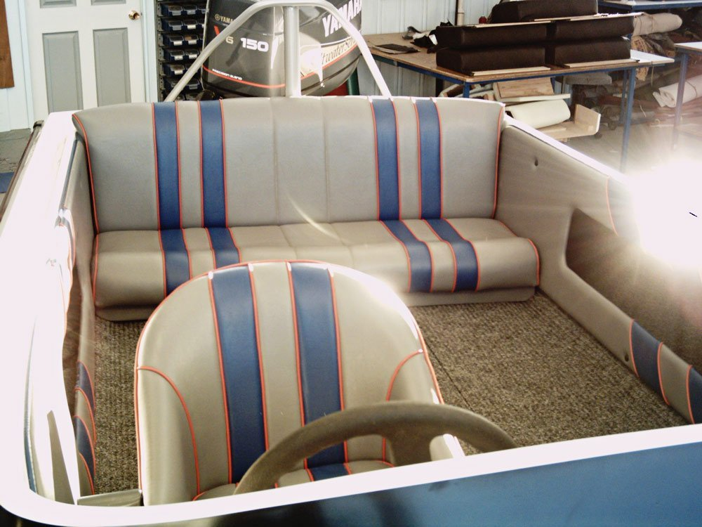 boat seat covers design