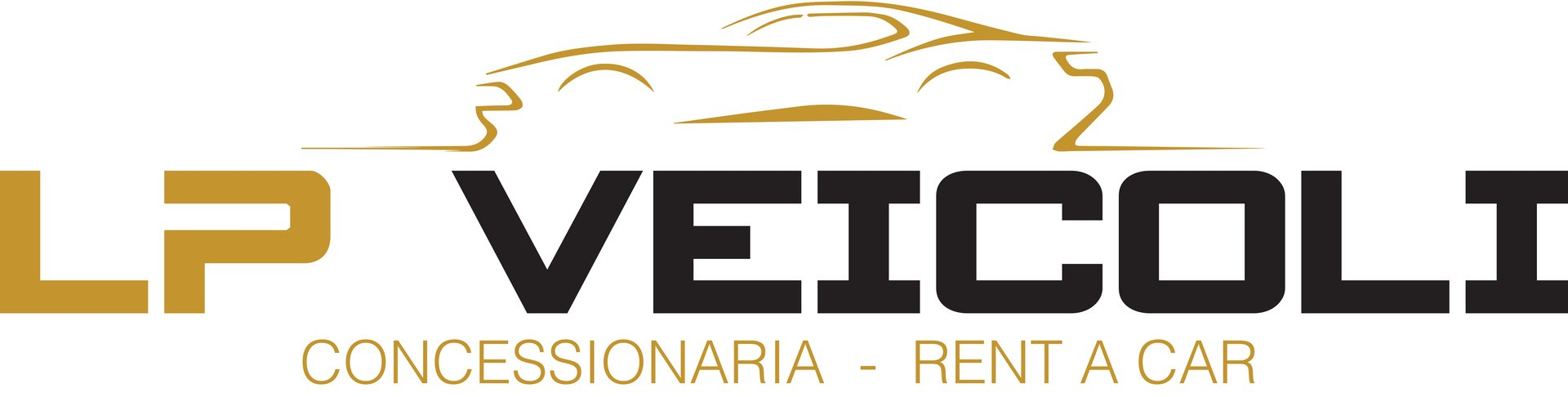LP VEICOLI RENT A CAR - LOGO