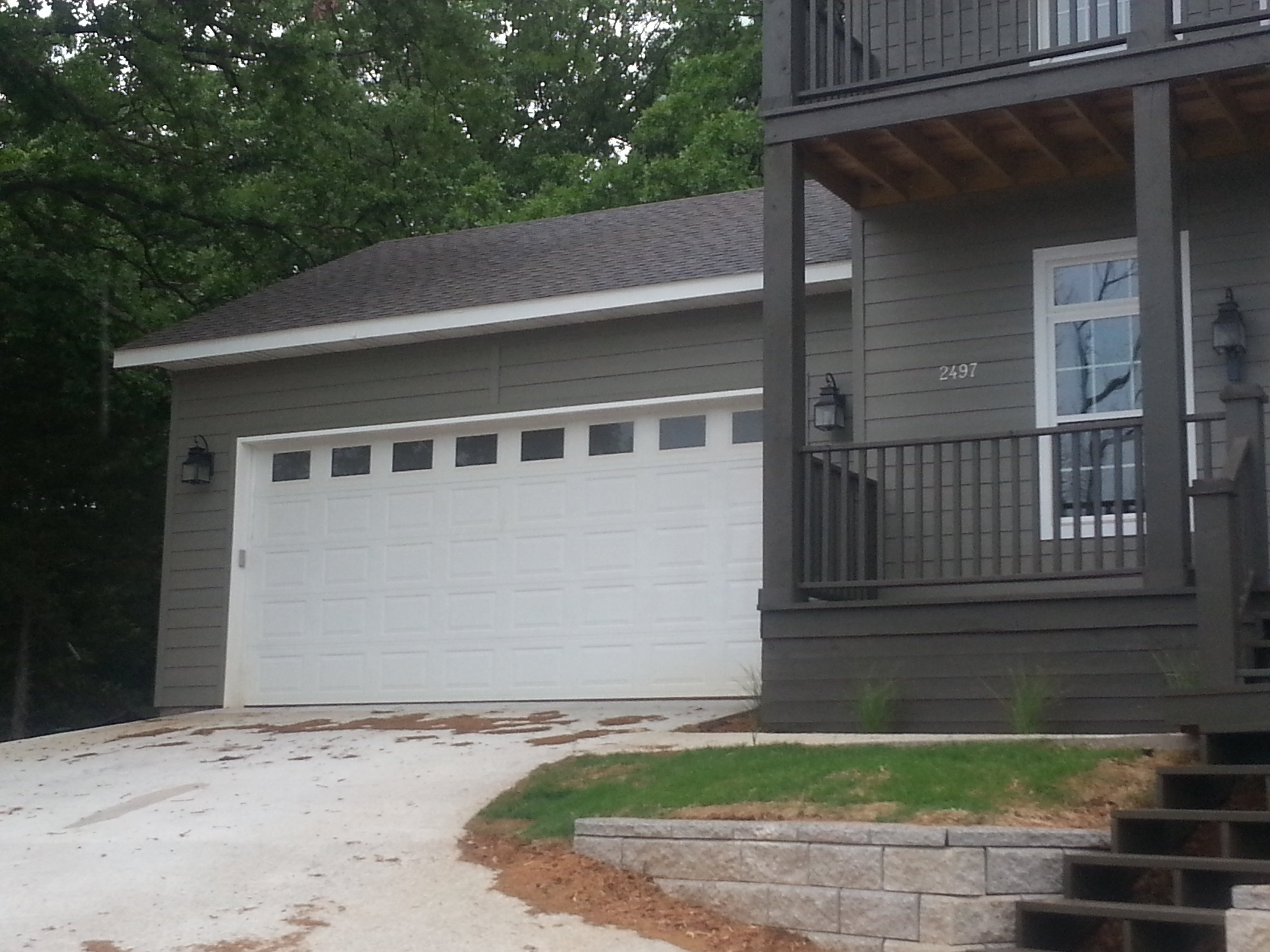 1440 #4B5F3B Kennith's Overhead Door Garage Doors Springdale AR pic Roll Up Residential Garage Doors 38511920