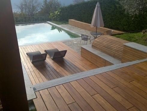 piscine in giardino