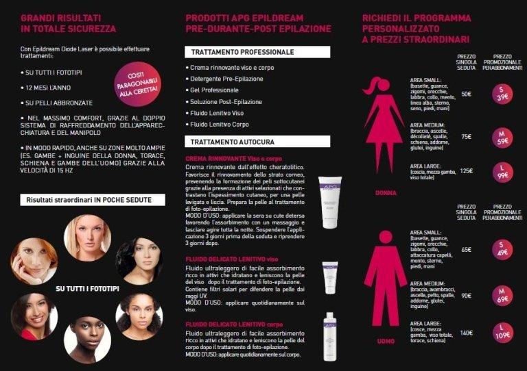 epilazione donna