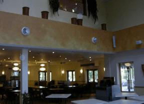 Center Parcs restaurant area