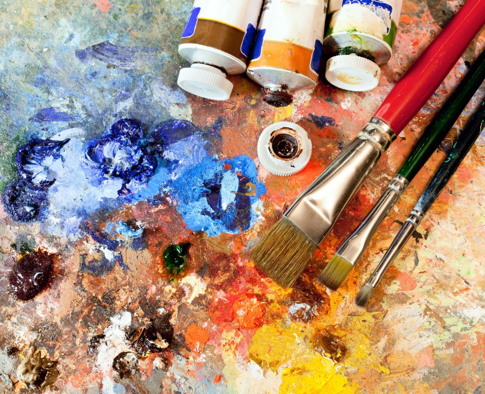 delle sfumature di colore e dei pennarelli