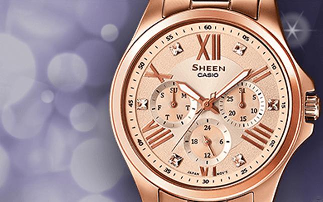 orologi, Cronografi, Sheen, Casio, Rieti