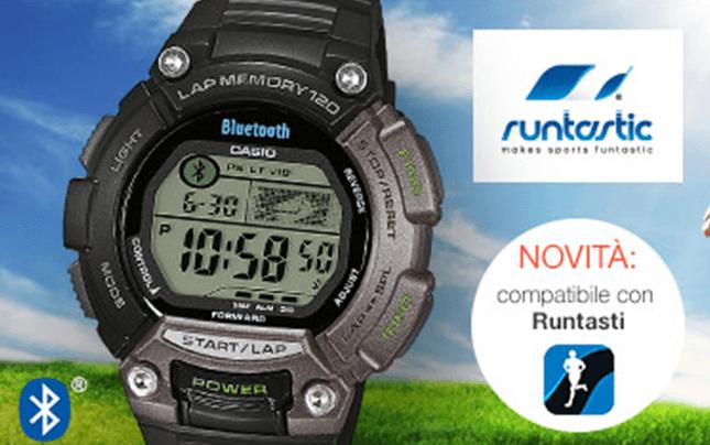 orologi bluetooth, orologi compatibili con Runtastic, Orologi per lo sport, Casio, Rieti