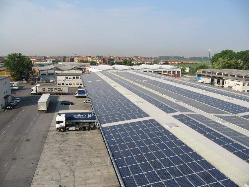 fotovoltaico per capannoni