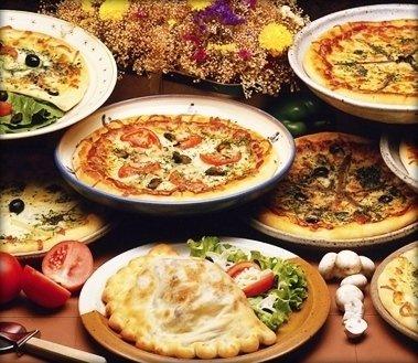 pizza al piatto