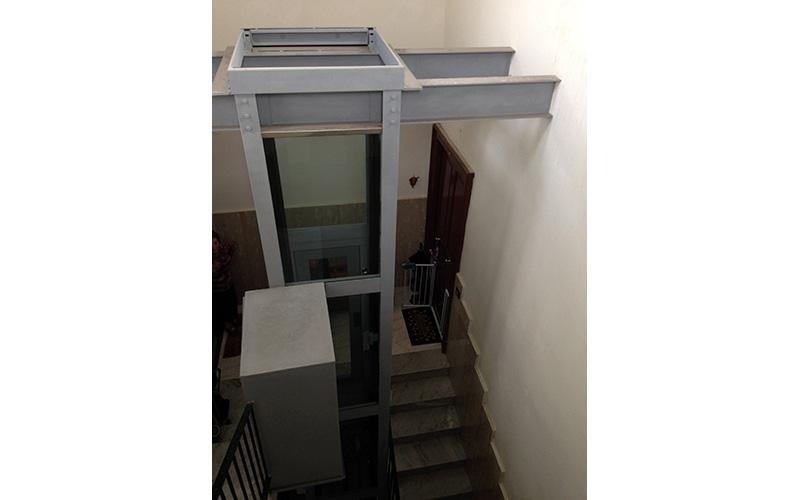 assistenza ascensori ad impianto sospeso