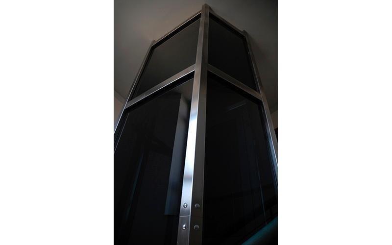 incastellature ascensori su misura