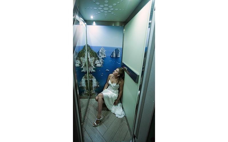 cabina ascensore su misura