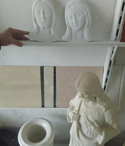 statue religiose in gesso