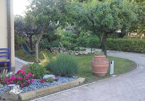 Angolo del giardino