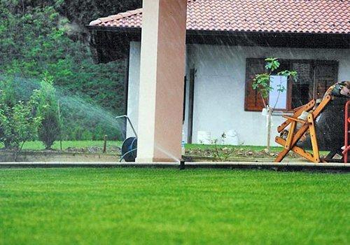Sistema di 'irrigazione per giardino