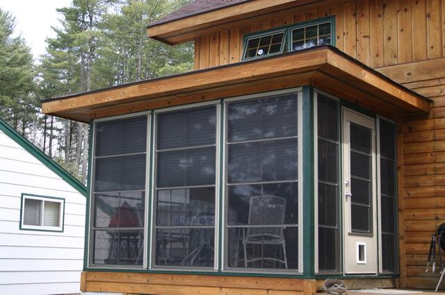 Garage Door Patio Enclosures : Porch enclosures photo gallery sunspace fuller garage door