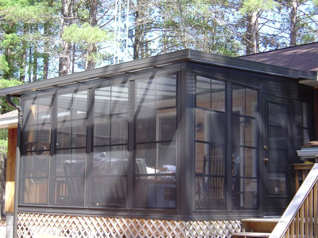 sunroom acrylic roof panels sunspace by fuller garage door