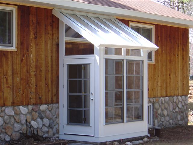 sunroom acrylic roof panels sunspace by fuller garage door