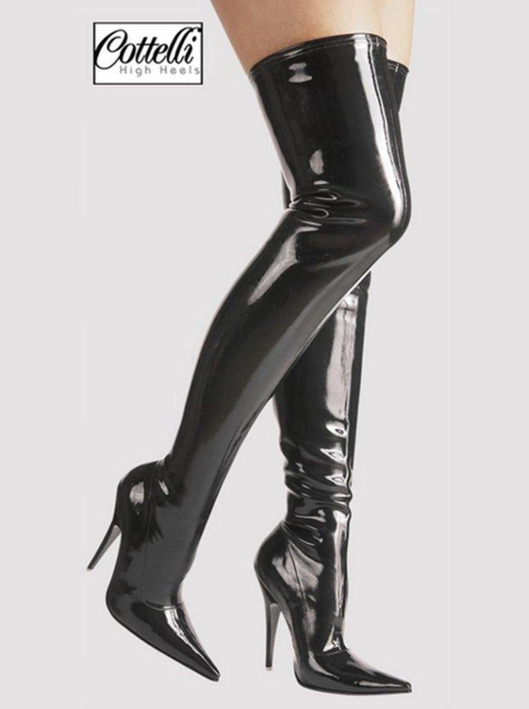 stivali in lattice femminili
