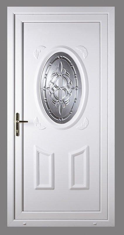 White color upvc doors