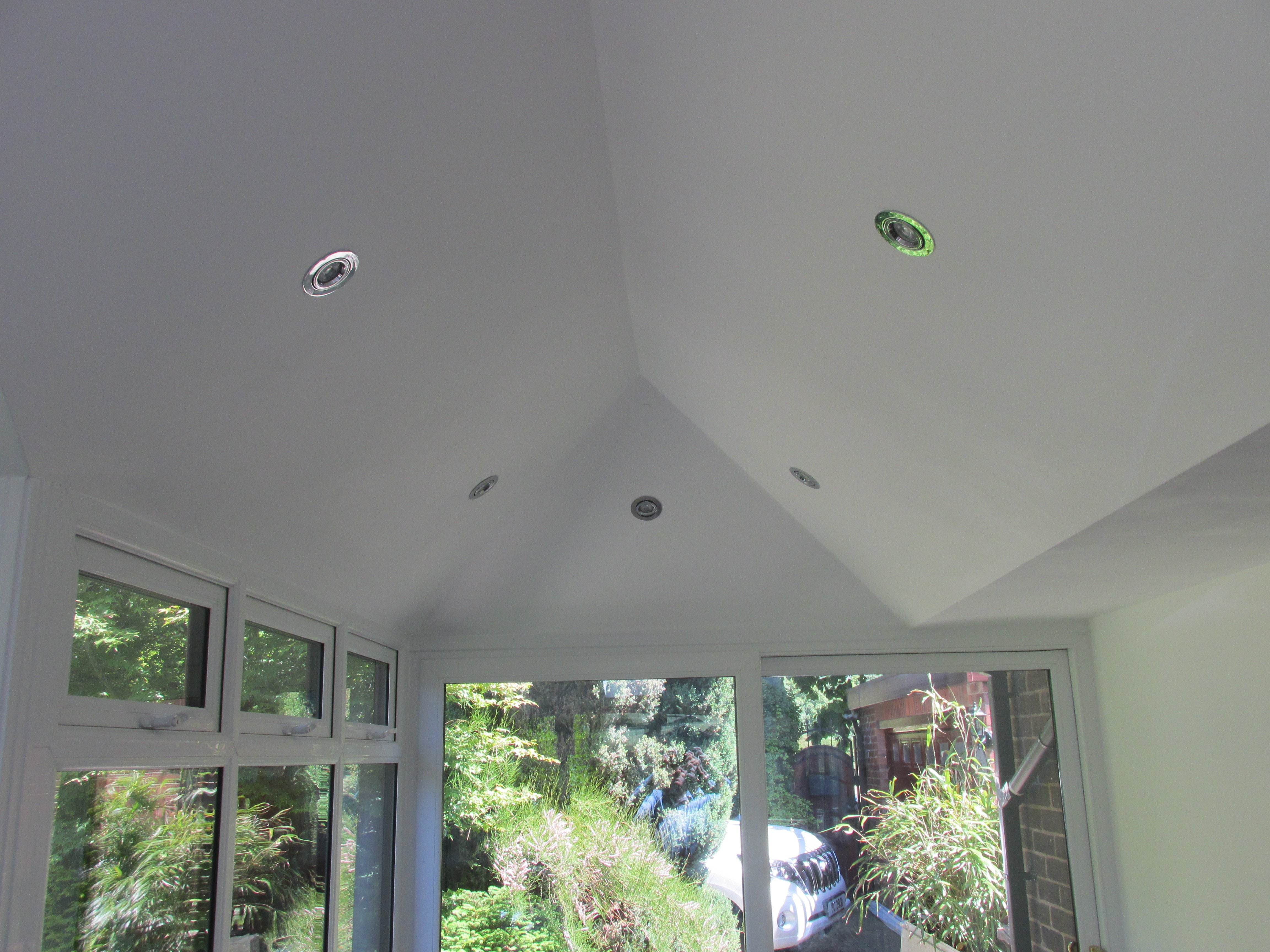 View of an installed SupaLite roof by expert
