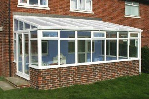 Polycarbonate conservatory