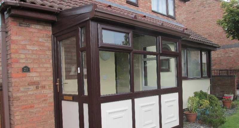 Porch in West Yorkshire installed by our specialists