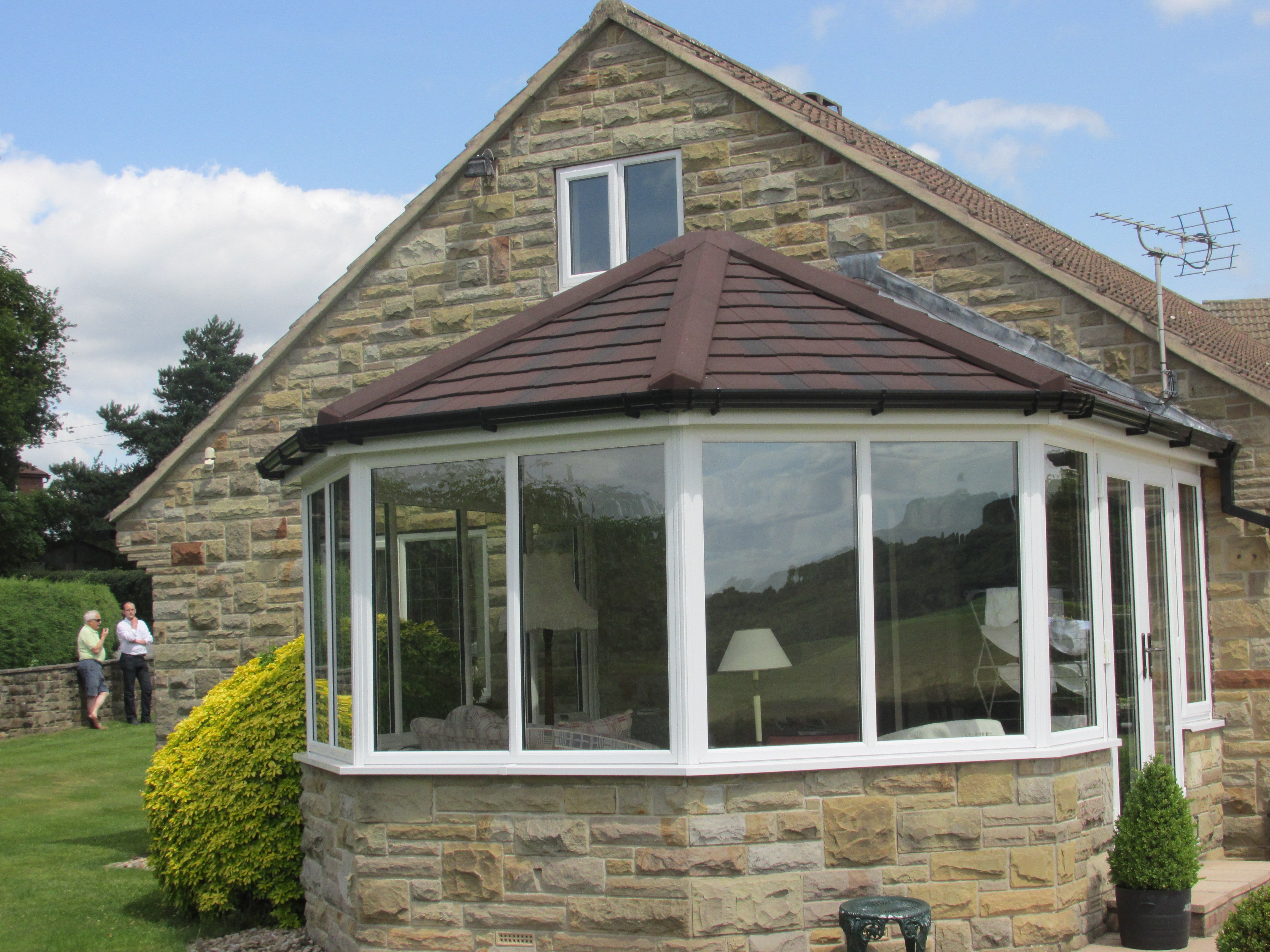 Example of our conservatory roofing in West Yorkshire