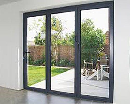 View of a Aluminium Bi-Fold Door in Normanton